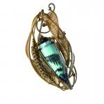 Andrea Salpetre for Artistar Jewels_John Farris Visionary Arts Vogel's_Aqua Aura Dream_Pendant copy